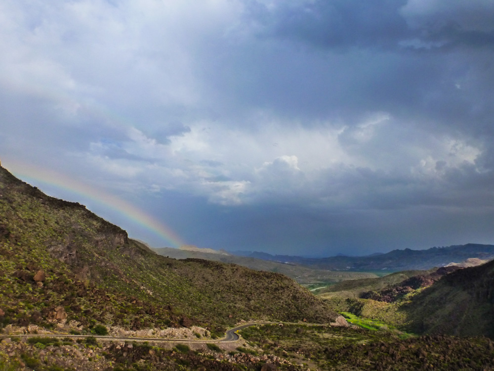 Big Bend Rainbow