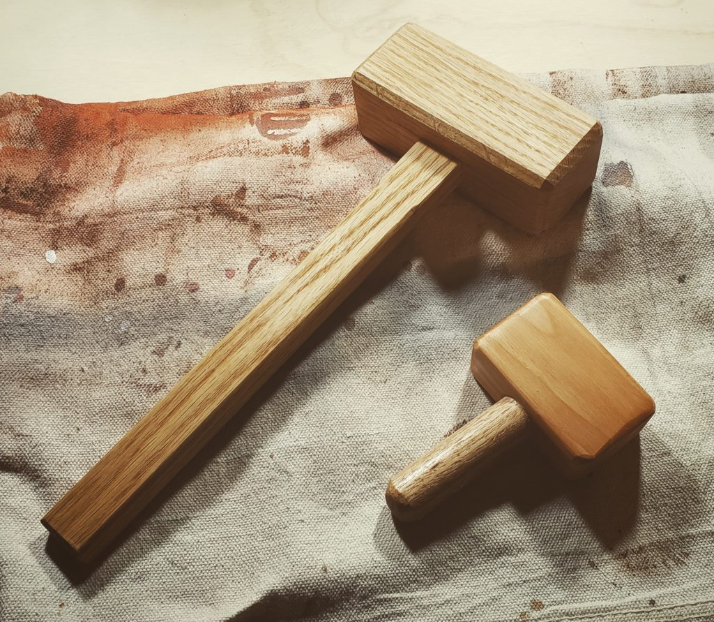 Small and large mallets